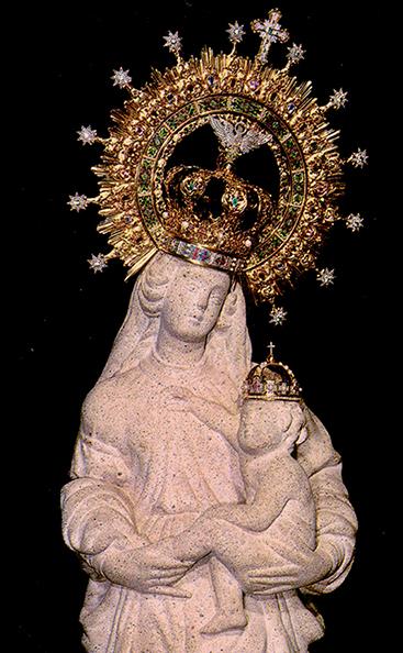 Imagen de la Stma. Virgen de la Victoria
